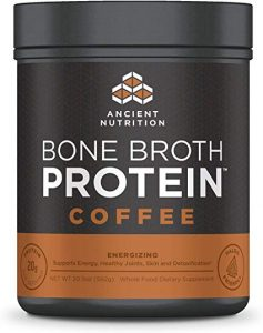 Ancient Nutrition – Energizing Caffeine Bone Broth Protein