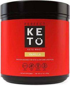 Perfect Keto - Whey Protein Isolate